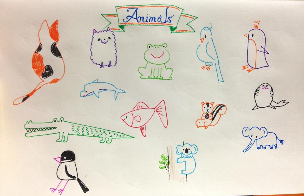 動物 イラスト 簡単 動物 イラスト 簡単 手書き すべてのイラスト画像ソース